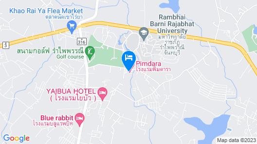 Pimdara Hotel Map