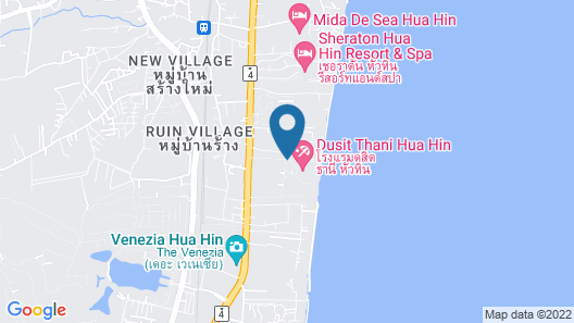 Dusit Thani Hua Hin Map