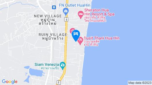 Dusit Thani Hua Hin Map