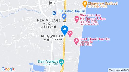 Avani+ Hua Hin Resort Map