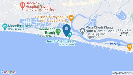 Kantary Bay Hotel, Rayong Map