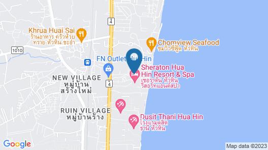 Ace of Hua Hin Resort Map