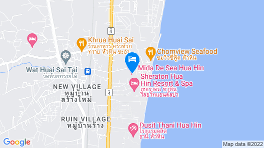 Mida De Sea Hua Hin Map