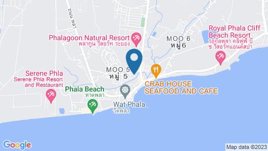 Xanadu Pool Villa at Phala Map