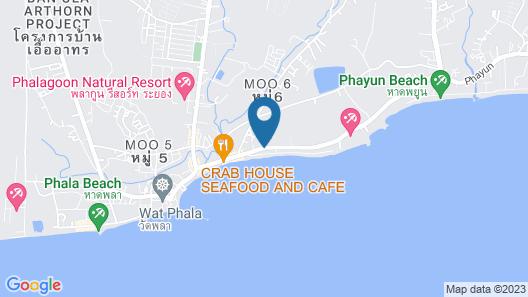 Play Phala Beach Rayong Map