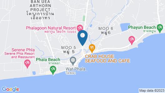 Phalagoon Natural Resort @ Rayong Map