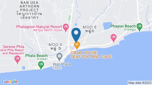 Phalaburi Resort Map