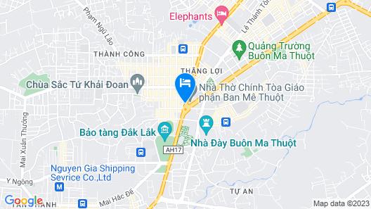 Saigon Ban Me Hotel Map