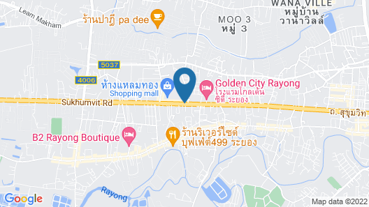 D Varee Diva Central Rayong Map