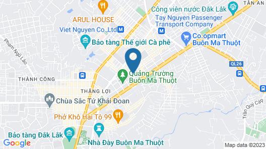 Bazan Xanh Hotel Map