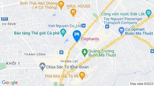 Elephants Hotel Buon Ma Thuot Map