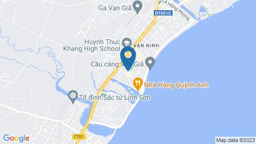 OYO 727 Hoang Giang Hotel Map