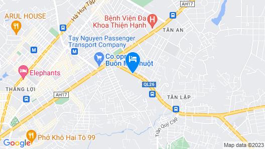 Hotel Ngoc Han Map