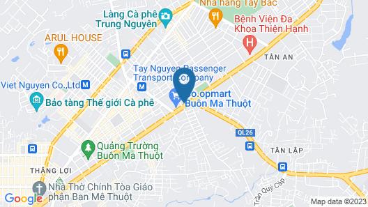 My Ngoc Hotel Map