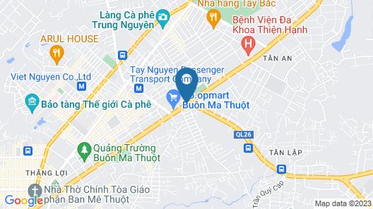 Muong Thanh Luxury Buon Ma Thuot Map