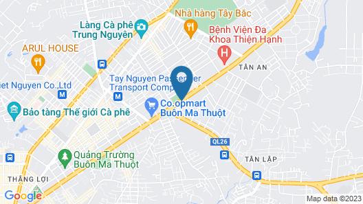 Dakruco Hotel Map