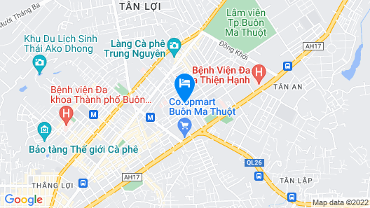 Ngoc Dung Hotel Map