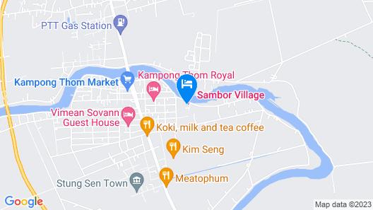 Sambor Village Hotel Map