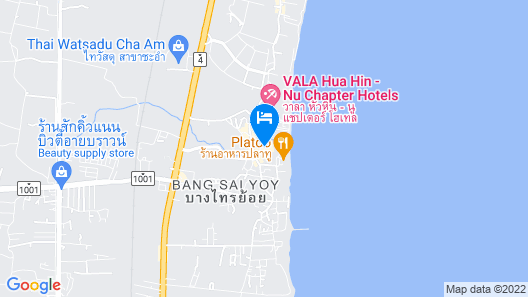 Novotel Hua Hin Cha Am Beach Resort & Spa Map