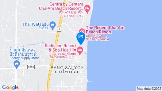 Vala Hua Hin - Nu Chapter Hotels Map