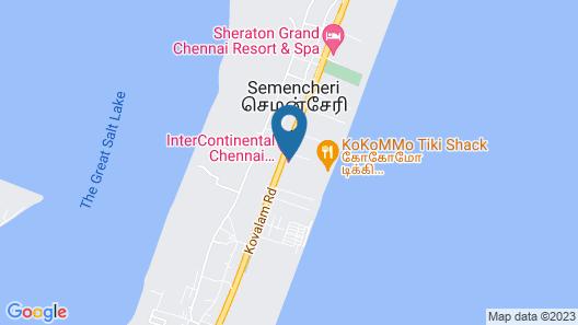 InterContinental Chennai Mahabalipuram Resort, an IHG Hotel Map
