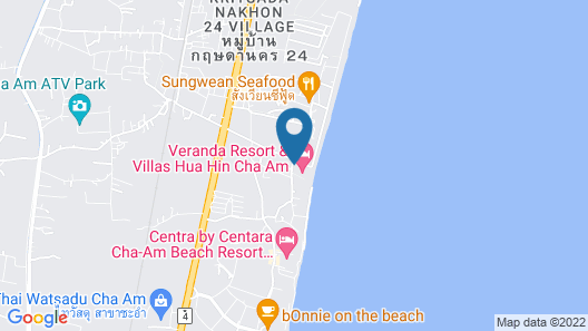 Veranda Resort Hua Hin - Cha Am, MGallery Map