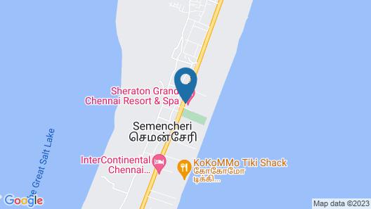 Sheraton Grand Chennai Resort & Spa Map