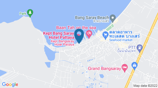 Kept Bangsaray Pattaya Map