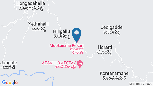 Mookanana Resort Map