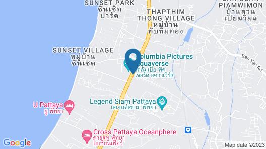 Chivani Pattaya Map