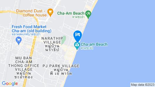 Bann Pantai Resort Map