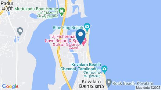 Taj Fisherman's Cove Resort & Spa, Chennai Map