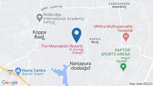 The Meenakshi Resort Map