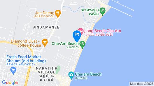 Tara Mantra Cha Am Resort Map