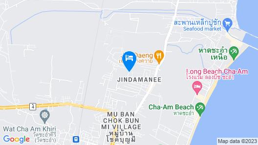 Cza Cha-Am Map