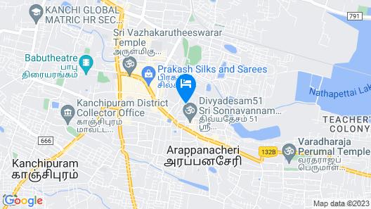 Regency Kanchipuram by GRT Hotels Map