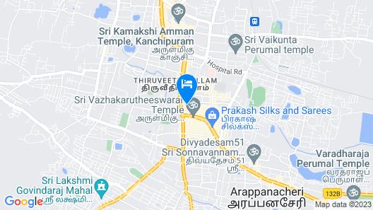 Nitheesh Residency Map