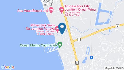 Ravindra Beach Resort And Spa Map