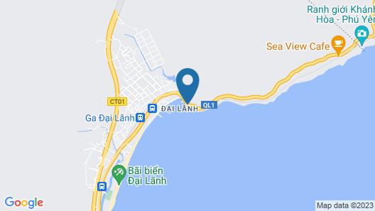 Le Plateau Hostel Dai Lanh Map