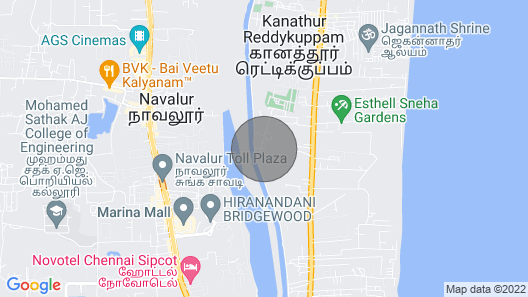 Villa With a Private Swimming Pool Map