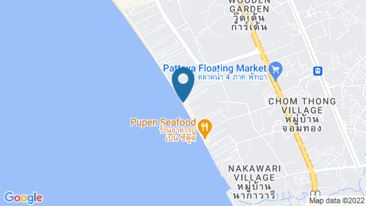 U Jomtien Pattaya Map