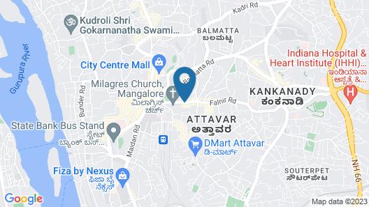 Hotel Moti Mahal Map