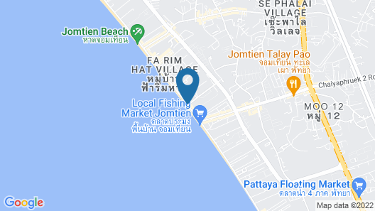 D Varee Jomtien Beach Map