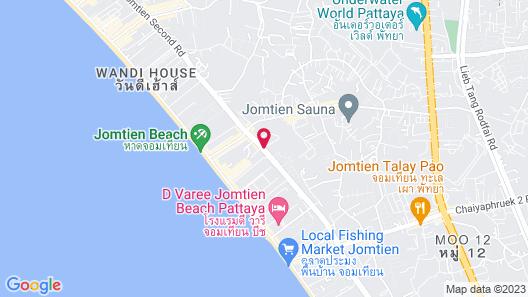 Atlantis Condo Pattaya by Panissara Map