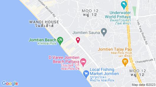 Atlantis Condo Resort By Wanida Map