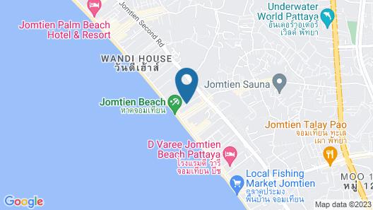 Tribe Hotel Pattaya Map