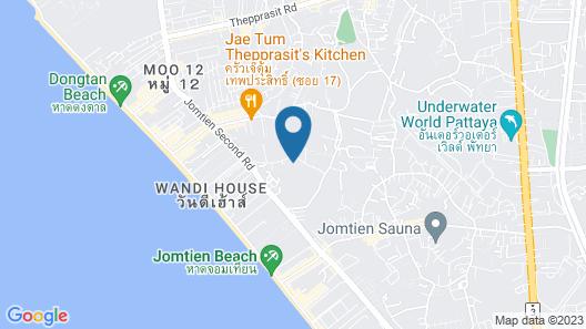 Laguna Beach Resort Jomtien Map