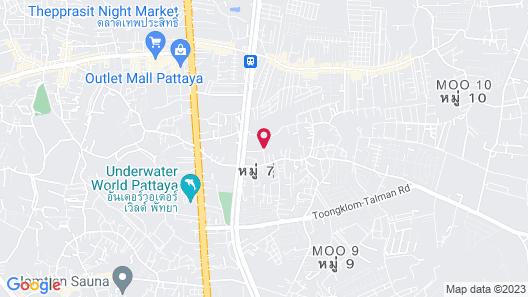 Baan Kaew Ruen Kwan Map