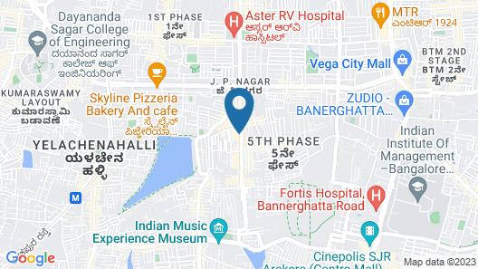 OYO Home 41195 Pleasant Stay Jp Nagar 5th Pahase Map