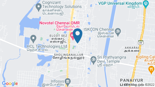 Swarna Sudarshan Service Apartments Map